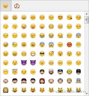 Смайлики в ICQ